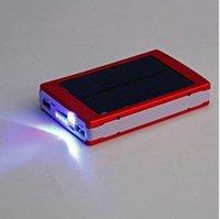 2016 Высокая емкость Солнечное зарядное устройство и аккумулятор 10000mAh панели солнечных батарей двойной зарядки Ports портативный банк питания для сотового телефона MP3 MP4