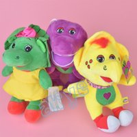 barney bop - 3pcs set quot cm Barney Friend Baby Bop BJ Plush Doll Stuffed Toy For Baby Gifts New