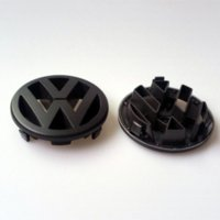 Wholesale Car Styling Volkswagen Parts VW Golf MK5 Front Grille Badge LOGO Matt Black Glossy Red Black Color Emblem for MK5 TO853601A