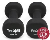 Wholesale Neoprene Coated Dumbbell Hand Weight Exercise Set lbs Pair