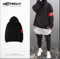 Wholesale 2016 Japanese Brand Hooded Hoodies Men Kanye West Streetwear Swag Women Hoodie Free Of Badge Cotton Oversized Sweatshirts SMR0738