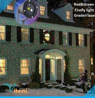 Wholesale Outdoor IP65 Waterproof LED laser light AC110V V RGB stage Christmas light flashing gradient Lawn lamp Remote control remote control