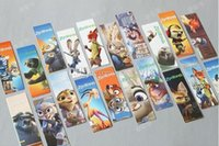 Wholesale New zootopia cartoon Bookmarks Nick Judy DIY manual bookmarks box C683