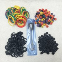 bar cleaning supplies - 2016 Tattoo Accessories Tattoo Supplies Rubber O Rings A bar Grommet Nipple Bands machine Cleaning Brush