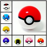 Wholesale 7cm Cosplay New Pokeball Master Great Playset action figures Pop up Plastic Poke Ball Go Toy for kid toys