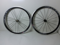 Wholesale 1pair Newest C mm clincher rim alloy brake surface Road bike carbon wheelset K glossy carbon bicycle wheelset by EMS