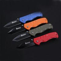 2016 Boker del cuchillo de bolsillo plegable de plástico cuchillos de caza que acampa Boker mango corchete cuchillos herramientas de mano cuchillo de supervivencia táctica 250143