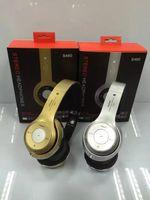 Wholesale Promotion Wireless Bluetooth Earphone Headphones Beatsstudio Studio Ear Foldable Bass B S460 Stereo Headset Micphone Gold