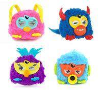 Wholesale electronic pets owl pheobe plush electronic toys learning amp Education toy copy voice dance talk funny toy HT586