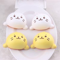 Charm accessories shops - 20pcs Water cat bread Pendant squishy packages Mobile phone accessories Cake shop toy shop accessories food toys