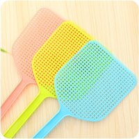 Wholesale color high quality Plastic fly swatter Random shot off flies Fly swatter Mosquito artifact Beat fly
