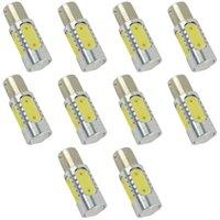 Wholesale 10x W T15 Cree Led W Car parking Lights Backup Optical Projector Lens Bulbs Lamp for car fog lamp12V