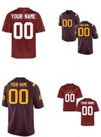 arizona states - Men s Women Youth Kids Arizona State Sun Devils Personalized Customized Cheap NCAA jerseys Brown Red Jerseys Top Quality Drop Shipping