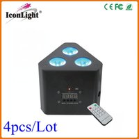 Wholesale 3 W Mini LED Uplight RGB in1 Color Mixing DMX LED Effect Light with IRC Remote Control