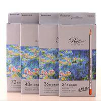 Wholesale Marco Raffine Fine Art lapis de cor Colors Drawing Pencils Drawing Sketches Mitsubishi School Supplies Secret Garde Pencil