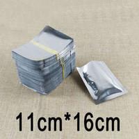 aluminium recycling - 500pcs cm cm High Quality Aluminium Foil Flat Bag Tea Packaging Plastic Recycle Bags Biscuit Gift Bag