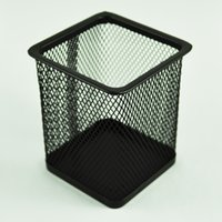 Wholesale Affordable Rectangular Mesh Style Pen Ruler Holder Desk Organizer for Home Office