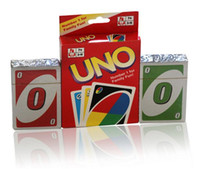 Wholesale Hot Family Funny Entertainment Board Game UNO Fun Poker Playing Cards Puzzle Games Standard Uno Card
