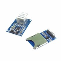 arm ethernet - ENC28J60 Ethernet LAN Network Module Schematic For Arduino AVR LPC SD Card Module Slot Socket Reader ARM MCU