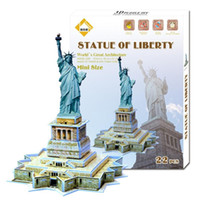 Wholesale Creative Titanic Statue of Liberty Tower Bridge Model Building Kits for Children and Parents Gift in Children s Day Free Ship