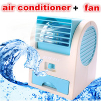 Plastic battery time left - New mini USB fan air conditioner No Leaves Portable Handheld Air Conditioning rechargeable batteries Bladeless Cooler