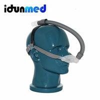 Wholesale idunmed NP1 CPAP APAP BiPAP Nasal Nose Pillows Respirator Mask With Adjustable Headgear Tube For Sleep Apnea Anti Snoring