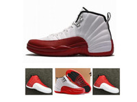 Wholesale Cherry Gym and Varsity Red Mens Basketball Shoes Cheap Good Quality s Discount Sports men Leather Sneakers white red