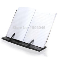 Wholesale Top Quality Brand New Adjustable Portable Steel Book Document Stand Reading Desk Holder Bookstand