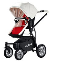 babies absorber - Strollers baby stroller high landscape can sit lie folded stroller with shock absorber baby noble travelling car pushchair