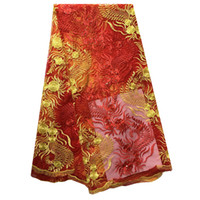 Wholesale The latest African silk cloth beautiful and elegant colors of styles for your choice is the best collocation of the wedding party dress