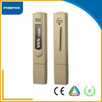 Wholesale Household Water Quality Yellow and Gray Color Tests TDS meter and pH meter price for sales