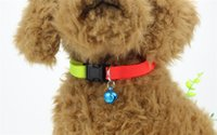 Wholesale DHL New Adjustable Breakaway Safety Buckle Cat Nylon Solid Color Pure Color Collar Puppy Collar Multi Colors jy799