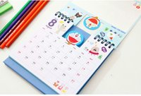 Wholesale 2017 gift cartoon calendar desktop calendar schedule lovely vertical calendar Lunar calendar calendar