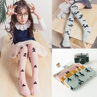 Wholesale Cute Cartoon Baby Girls Knee Stockings New Design Cloud Pony Pattern Over Knee Socks Kids Leg Warmers