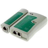 Wholesale High Quality RJ45 RJ11 RJ12 CAT5 UTP Network LAN Cable Tester Networking Tool Retail