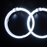 Wholesale LED Angel Eye Angle Eye LED Headlights Autoparts LED Headlamp Car Styling Modifying Modication Auto Parts