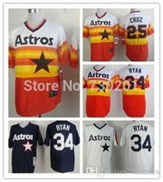 andy cotton - 2015 New Houston Astros Throwback Jerseys Andy Pettitte Jose Cruz Nolan Ryan Jersey White Dark Blue Orange