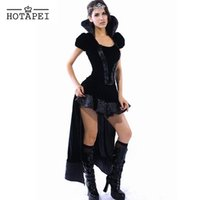 Wholesale Hotapei Good Quality Sexy wicked Queen Costume LC8426 Women Halloween Costume Sexy Cosplay for Women Sexy Erotic M L XL