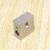Cheap 1PCS Makerbot MK7 MK8 the heating head heating block for 3D printer 20mm x 20mm x10mm FREE SHIPPING