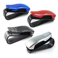Wholesale Brand New Sunglasses Glasses Holder Clip for Sun Visor Air Vent Conveniently Holds of Sunglasses PC FG15343