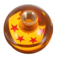 Wholesale M10 x1 Universal Racing Gear SHIFT KNOB DRAGON BALL DRAGON BALL Diameter Stars Amber Dragon