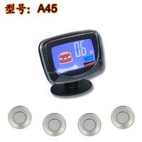 Wholesale 4 probe reversing radar LCD LCD color screen didi parking sensor buzzer export