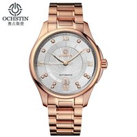 automatic watch mechanism - OCHSTIN Mens Top Brand Luxury Watch Brands Relogio Automatico Masculino Noctilucent Man Stainless Steel Watch Mechanism Authentic Watches