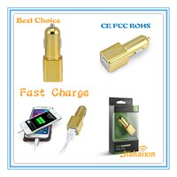 best design tools - Original Design BULLET DUAL USB CAR CHARGER ADAPTER TOOLS BEST FOR TRAVEL EASY LIFE for Mobile Phone in car adapter