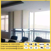 Wholesale Motorized roller shade with wireless remote control wall switch m m width m heigh size customed