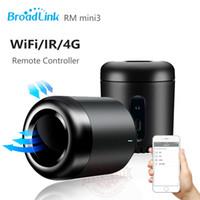 Wholesale 2016 Newest Broadlink RM Mini3 Black Bean Smart Home Universal Intelligent WiFi IR G Wireless Remote Controller By Smart Phone
