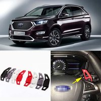 Wholesale Brand New High Quality Alloy Add On Steering Wheel Paddle Shifters Extension For Ford Edge
