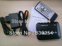 Wholesale New P HD Media Center RM RMVB AVI MPEG TV Player With USB And SD MMC Port