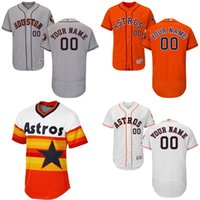 astros for sale - cheap Men s Custom Houston Astros Baseball Jersey Flexbase Collection For Sale stitched size S XL