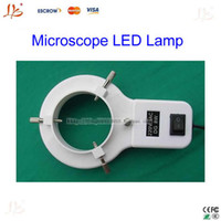 annular fluorescent lamp - Microscope Lamp Fluorescent Tube Annular LED Lamp tubes Ring Adjustable light